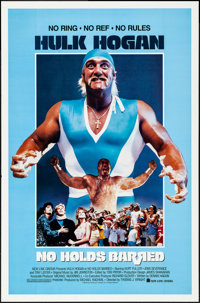 "No Holds Barred & Other Lot (New Line, 1989). Rolled, Very Fine+. One Sheets (2) (27"" X 41"") SS. Action..."