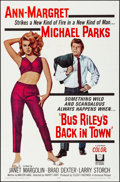 Movie Posters:Drama, Bus Riley's Back in Town (Universal, 1965). Folded, Very F...