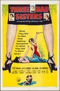 """Movie Posters:Bad Girl, Three Bad Sisters & Other Lot (United Artists, 1956). Folded,Very Fine-. One Sheets (2) (27"""" X 41""""). Bad Girl.. ..."""