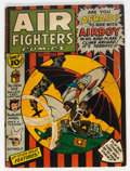 Golden Age (1938-1955):Adventure, Air Fighters Comics #4 (Hillman Fall, 1943) Condition: GD/VG....
