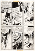Original Comic Art:Panel Pages, Ric Estrada and Dick Giordano DC Special Series #8 The Brave and The Bold Original Art Batman Deadman ...