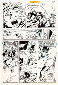 Ric Estrada Unknown Soldier #230 Story Page 6 Original Art (DC, 1979)