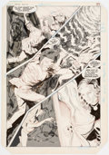 Original Comic Art:Panel Pages, Gray Morrow Supergirl Movie Special #1 Story Page 39 Original Art (DC, 1985)....