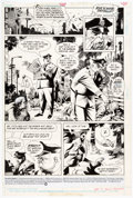 Original Comic Art:Panel Pages, Kevin Nowlan Plastic Man #2 Story Page 1 Original Art (DC, 1988)....