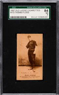 Baseball Cards:Singles (Pre-1930), 1887-90 N172 Old Judge Thomas Flood (#164-4) SGC 84 NM 7. . ...