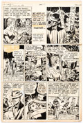 Original Comic Art:Panel Pages, Jack Kirby and Bill Draut In Love #2 Page 17 Original Art (Mainline, 1954)....