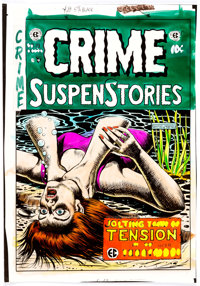 Marie Severin Crime SuspenStories Hardcover Collection Volume 4 Issue #19 Cover Color Produc