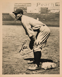 1934 Butterfingers Premiums Lou Gehrig