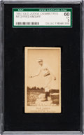 Baseball Cards:Singles (Pre-1930), 1887-90 N172 Old Judge Fred Knouff (#267-4) SGC 60 EX 5. ...
