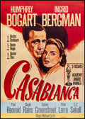"Movie Posters:Academy Award Winners, Casablanca (Nobis, R-1972). Very Fine+ on Linen. German A1 (23.5"" X33""). Academy Award Winners.. ..."