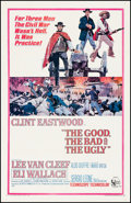 "Movie Posters:Western, The Good, the Bad and the Ugly (United Artists, 1968). Fine onLinen. One Sheet (26.75"" X 41.5""). Western.. ..."
