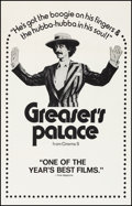 "Movie Posters:Comedy, Greaser's Palace (Cinema 5, 1972). Very Fine on Linen. One Sheet (27"" X 41.25""). Comedy.. ..."