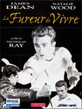 "Movie Posters:Drama, Rebel Without a Cause (Carlotta, R-1990s). Folded, Very Fine.French Grande (45.75"" X 61""). Drama.. ..."