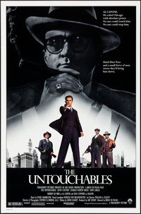 """The Untouchables & Other Lot (Paramount, 1987). Rolled, Very Fine-. One Sheets (3) (27"""" X 41"""") SS. Crime..."""