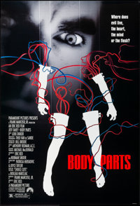 """Body Parts & Other Lot (Paramount, 1991). Rolled, Very Fine+. One Sheets (3) (27"""" X 40"""" & 27&q..."""