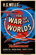 "Movie Posters:Science Fiction, The War of the Worlds (Paramount, 1953). Rolled, Fine/Very Fine.Silk Screen Poster (40"" X 60"") Style Y.. ..."