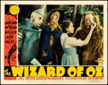 "Movie Posters:Fantasy, The Wizard of Oz (MGM, 1939). Fine+. Lobby Card (11"" X 14"").. ..."