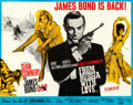 "Movie Posters:James Bond, From Russia with Love (United Artists, 1964). Fine+, Folded on Paper. British Half Sheet (22"" X 28"") Renato Fratini and Eric..."