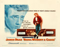 """Movie Posters:Drama, Rebel Without a Cause (Warner Brothers, 1955). Very Fine on Paper. Half Sheet (22"""" X 28"""").. ..."""