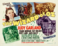 """The Wizard of Oz (MGM, R-1949). Fine/Very Fine on Paper. Half Sheet (22"""" X 28"""") Style B"""