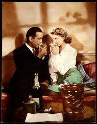"Casablanca (Warner Brothers, 1940s-1950s). Very Fine+. Oversized Photo (11"" X 14"")"