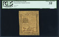 Colonial Notes:Pennsylvania, Pennsylvania July 20, 1775 20s PCGS Choice About New 58.