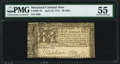 Maryland April 10, 1774 $8 PMG About Uncirculated 55