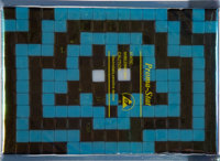 Invader (French, b. 1969) IK 09: Hypnotic Vienna, 2008 Ceramic tiles on an adhesive backing 4-3/4 x 6-3/4 inches (12