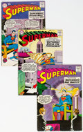 Silver Age (1956-1969):Superhero, Superman Group of 5 (DC, 1959) Condition: Average VG+.... (Total: 5Comic Books)