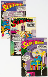 Superman Group of 5 (DC, 1959) Condition: Average VG+.... (Total: 5 Comic Books)