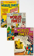 Silver Age (1956-1969):Superhero, World's Finest Comics Group of 14 (DC, 1956-63) Condition: Average GD/VG.... (Total: 14 Item)