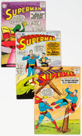 Silver Age (1956-1969):Superhero, Superman #134-140 Group (DC, 1960) Condition: Average VG+.... (Total: 7 Comic Books)