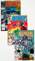 Modern Age (1980-Present):Superhero, The Avengers #289-343 Complete Range Half Box Lot (Marvel, 1984-88)Condition: Average NM....