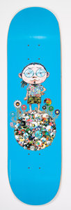 Collectible:Contemporary, Takashi Murakami X Vans. Untitled, from Vault by Vans, 2015. Screenprint in colors on skate deck. 32 x 8 inches (81....