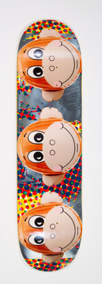 Jeff Koons X Supreme Untitled, from Monkey Train, 2006 Offset lithograph in colors on ska