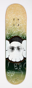 Collectible:Contemporary, KAWS (American, b. 1974). Untitled, 1999. Screenprint in colors on skate deck. 32 x 8 inches (81.3 x 20.3 cm). Published...