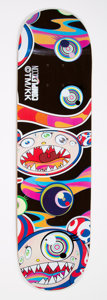 Collectible:Contemporary, Takashi Murakami X ComplexCon. Untitled, 2016. Screenprint in colors on skate deck. 32 x 8 inches (81.3 x 20.3 cm). Publ...