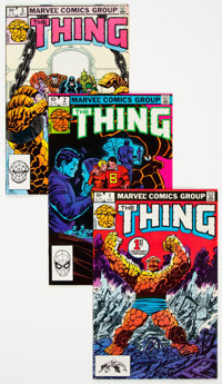 The Thing #1-20 Box Lot (Marvel, 1983-85) Condition: Average FN/VF
