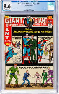 Superman's Pal Jimmy Olsen #140 (DC, 1971) CGC NM+ 9.6 Off-white to white pages