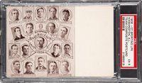 1906-07 Sporting Life Team Postcards - Washington PSA EX 5 - Pop One, None Higher!