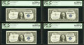 Fr. 1619 $1 1957 Silver Certificates. Twenty Consecutive Examples. PCGS Gem New 66PPQ. ... (Total: 20)