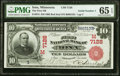 Iona, MN - $10 1902 Red Seal Fr. 613 The First National Bank Ch. # (M)7128 PMG Gem Uncirculated 65 EPQ