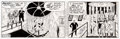 Original Comic Art:Comic Strip Art, Larry Lieber The Amazing Spider-Man Comic Strip Original Art dated 2-3-1994 (Marvel/King Features Syndicate, 1994)...