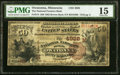 Owatonna, MN - $50 1882 Brown Back Fr. 514 The National Farmers Bank Ch. # (M)4928 PMG Choice Fine 15.<