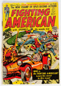 Golden Age (1938-1955):Superhero, Fighting American #1 (Prize, 1954) Condition: GD+....