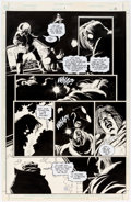 Original Comic Art:Panel Pages, Joe Quesada and Kevin Nowlan Batman: Sword of Azrael #1 Story Page 13 Original Art (DC, 1992)....
