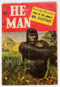 Golden Age (1938-1955):Adventure, He-Man #1 (Toby Publishing, 1954) Condition: GD....