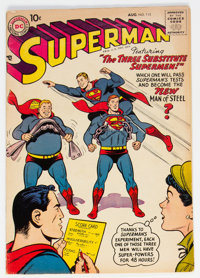 Superman #115 (DC, 1957) Condition: VG/FN