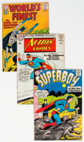 Silver Age (1956-1969):Superhero, Superman-Related Group of 10 (DC, 1960s) Condition: Average FN....(Total: 10 Comic Books)