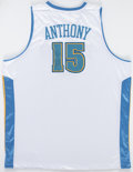 Autographs:Jerseys, Carmelo Anthony Signed Denver Nuggets Jersey. This...